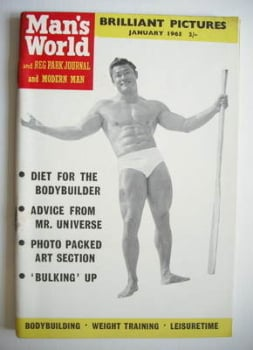 Man's World magazine / booklet (January 1965)