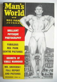 Man's World magazine / booklet (December 1964)