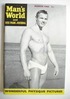 Man's World magazine / booklet (March 1966)