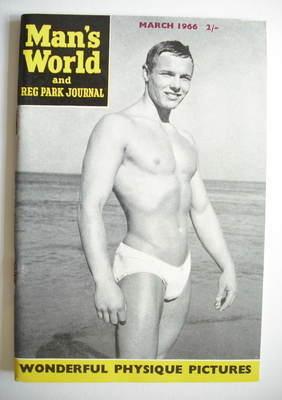 Man's World magazine / booklet (March 1966)