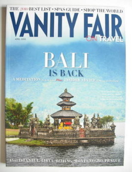 Vanity Fair On Travel magazine supplement (April 2010)