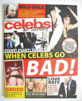 Celebs magazine - When Celebs Go Bad cover (18 April 2010)