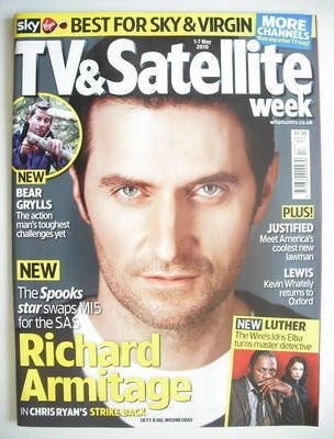 TV&Satellite Week magazine - Richard Armitage cover (1 - 7 May 2010)