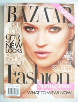 <!--2010-03-->Harper's Bazaar magazine - March 2010 - Kate Moss cover (US Edition)