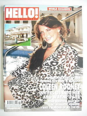 <!--2010-04-12-->Hello! magazine - Coleen Rooney cover (12 April 2010 - Iss