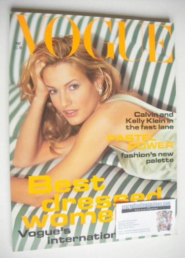 <!--1994-05-->British Vogue magazine - May 1994 - Karen Mulder cover