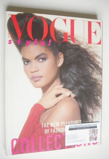 <!--1986-03-->British Vogue magazine - March 1986