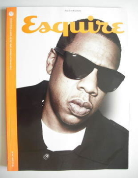 Esquire magazine - Jay-Z cover (May 2010 - Subscriber's Issue)