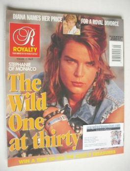 Royalty Monthly magazine - Princess Stephanie cover (April 1995, Vol.13 No.9)