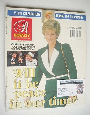 <!--0013-11-->Royalty Monthly magazine - Princess Diana cover (July 1995, V