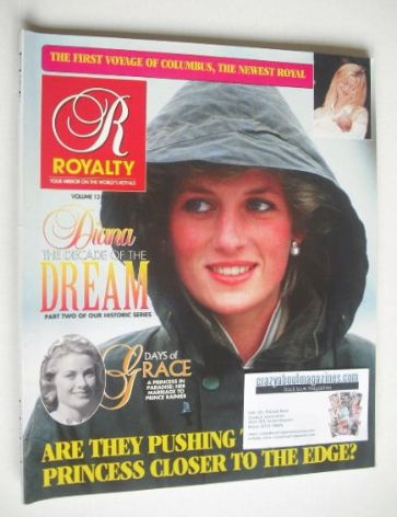 <!--0013-04-->Royalty Monthly magazine - Princess Diana cover (Vol.13 No.4)