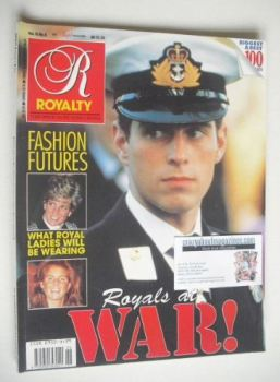Royalty Monthly magazine - Prince Andrew cover (March 1991, Vol.10 No.6)