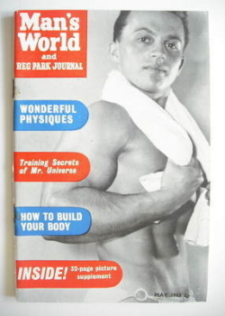 Man's World magazine / booklet (May 1962)