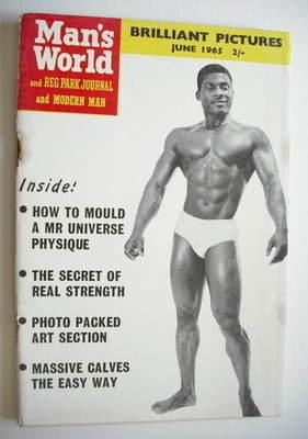 Man's World magazine / booklet (June 1965)