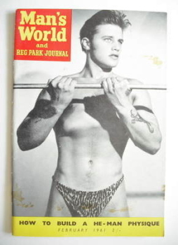 Man's World magazine / booklet (February 1961)