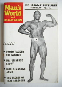 Man's World magazine / booklet (February 1966)
