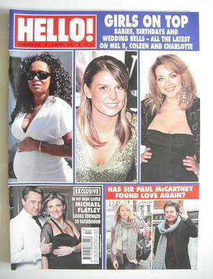 <!--2007-04-03-->Hello! magazine - Girls On Top cover (3 April 2007 - Issue