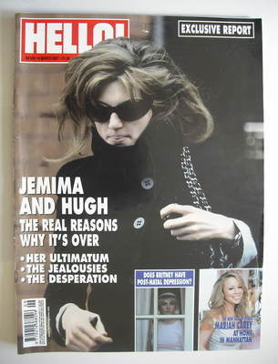 <!--2007-03-06-->Hello! magazine - Jemima Khan cover (6 March 2007 - Issue
