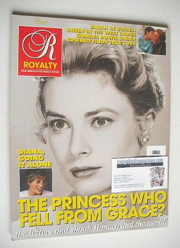 <!--0012-11-->Royalty Monthly magazine - Princess Grace cover (June 1994, V