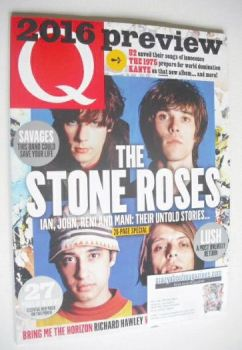 Q magazine - The Stone Roses cover (February 2016)