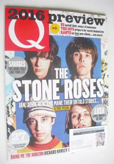 <!--2016-02-->Q magazine - The Stone Roses cover (February 2016)