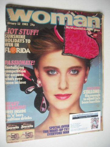 <!--1983-02-12-->Woman magazine (12 February 1983)
