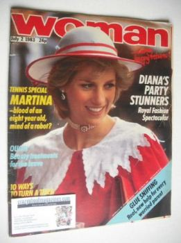 Woman magazine - Princess Diana cover (2 July 1983)