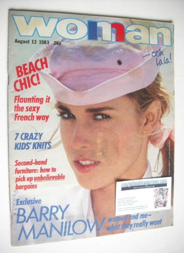 <!--1983-08-13-->Woman magazine (13 August 1983)