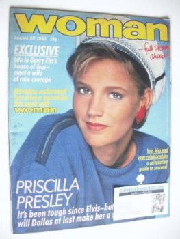 Woman magazine (20 August 1983)