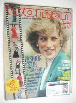 Woman magazine - Princess Diana cover (29 October 1983)