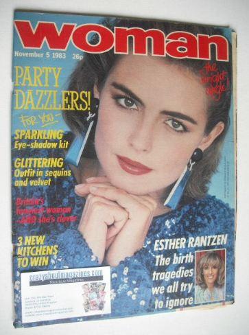 <!--1983-11-05-->Woman magazine (5 November 1983)