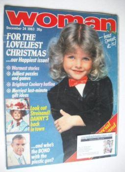 Woman magazine (24 December 1983)