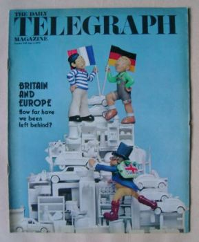 The Daily Telegraph magazine - Britain and Europe cover (6 June 1975)