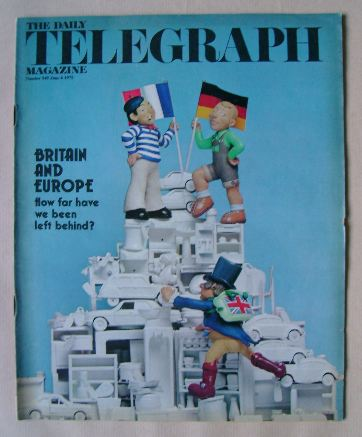 <!--1975-06-06-->The Daily Telegraph magazine - Britain and Europe cover (6