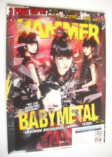 <!--2016-04-->Metal Hammer magazine - Babymetal cover (April 2016)