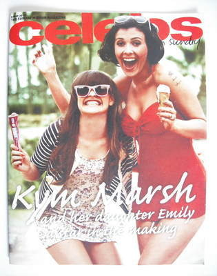<!--2010-05-09-->Celebs magazine - Kym Marsh cover (9 May 2010)