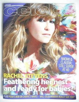 Celebs magazine - Rachel Stevens cover (16 May 2010)