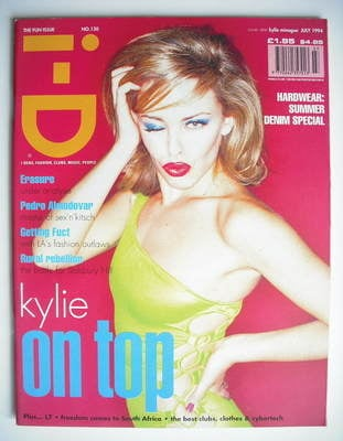 <!--1994-07-->i-D magazine - Kylie Minogue cover (July 1994)
