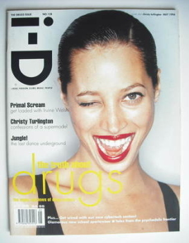 i-D magazine - Christy Turlington cover (May 1994)