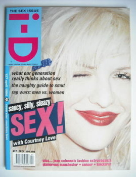 i-D magazine - Courtney Love cover (April 1994)