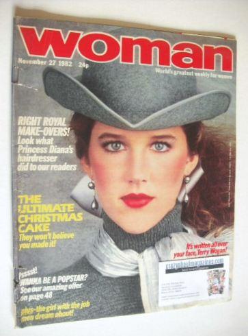 <!--1982-11-27-->Woman magazine (27 November 1982)