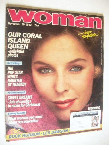 <!--1982-11-20-->Woman magazine (20 November 1982)
