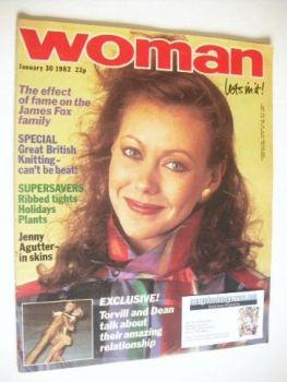 Woman magazine - Jenny Agutter cover (30 January 1982)