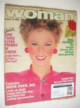Woman magazine (16 January 1982)