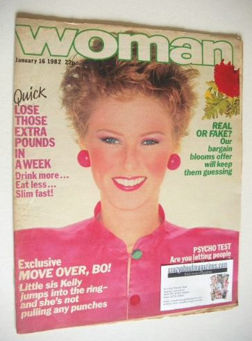 <!--1982-01-16-->Woman magazine (16 January 1982)