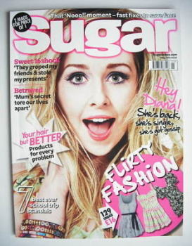 Sugar magazine - Diana Vickers cover (May 2010)
