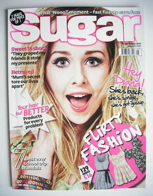 <!--2010-05-->Sugar magazine - Diana Vickers cover (May 2010)