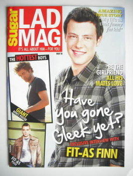 Lad magazine - Cory Monteith cover (May 2010)