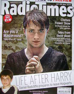<!--2010-05-22-->Radio Times magazine - Daniel Radcliffe cover (22-28 May 2