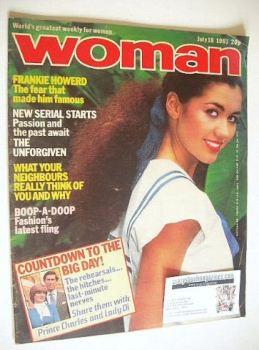 Woman magazine (18 July 1981)